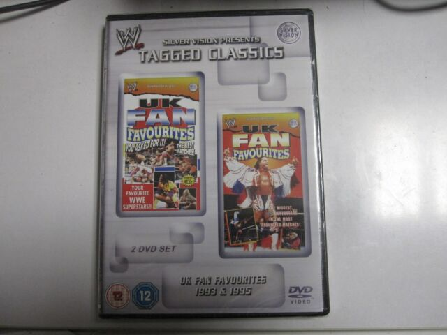 WWE Tagged Classics - UK Fan Favourites 1993 & 1995 DVD (2 Disc Set) WWF Rare