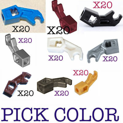 Lego 50 New Black Arm Mechanical Exo-Force Bionicle Thick Support Pieces