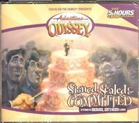 Adventures In Odyssey Signed Sealed & Committed 29 4 Cd Set Christian Audio