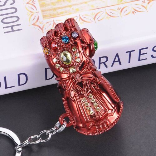 Avengers 4 Endgame Thanos Infinity Gauntlet Alloy Key Chains Keychain Keyring