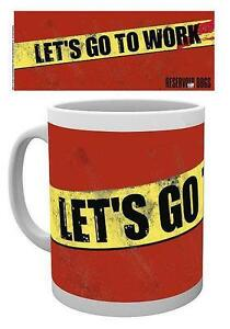 "Begeistert Reservoir Dogs Tasse ""let's Go To Work"" Kaffeetasse Mug Modern Und Elegant In Mode Aufsteller & Figuren Film-fanartikel"