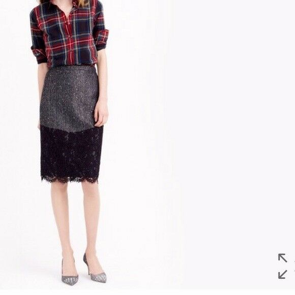 NWT J.Crew The Perfect Party Skirt Size 00