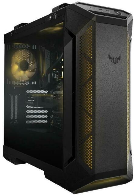 ASUS TUF Gaming GT501 RGB Tempered Glass Mid Tower Case - Black Mid Tower