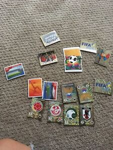 panini-world-cup-2018-Russia-Sticker-Legend-And-Logo