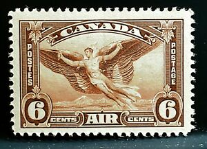 1935-Canada-Airmail-Stamp-C5-Mint-MNH-Daedalus-in-Flight-Air-Post-VF-BV-9