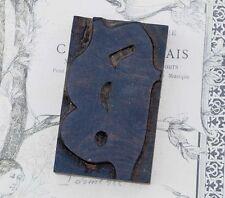 Letter Blackletter Wood Type 354 Woodtype Font Letterpress Printing Block
