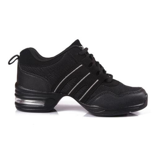 Womens Athletic Sneakers bequem Modern Jazz Hip Hop Tanzschuhe Running Dancewear