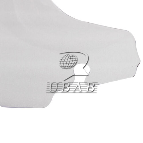 """Clear 4.5/"""" 4 1//2/"""" Wave Windshield for Harley Touring FLHT FLHX 2014 2015 2016"""