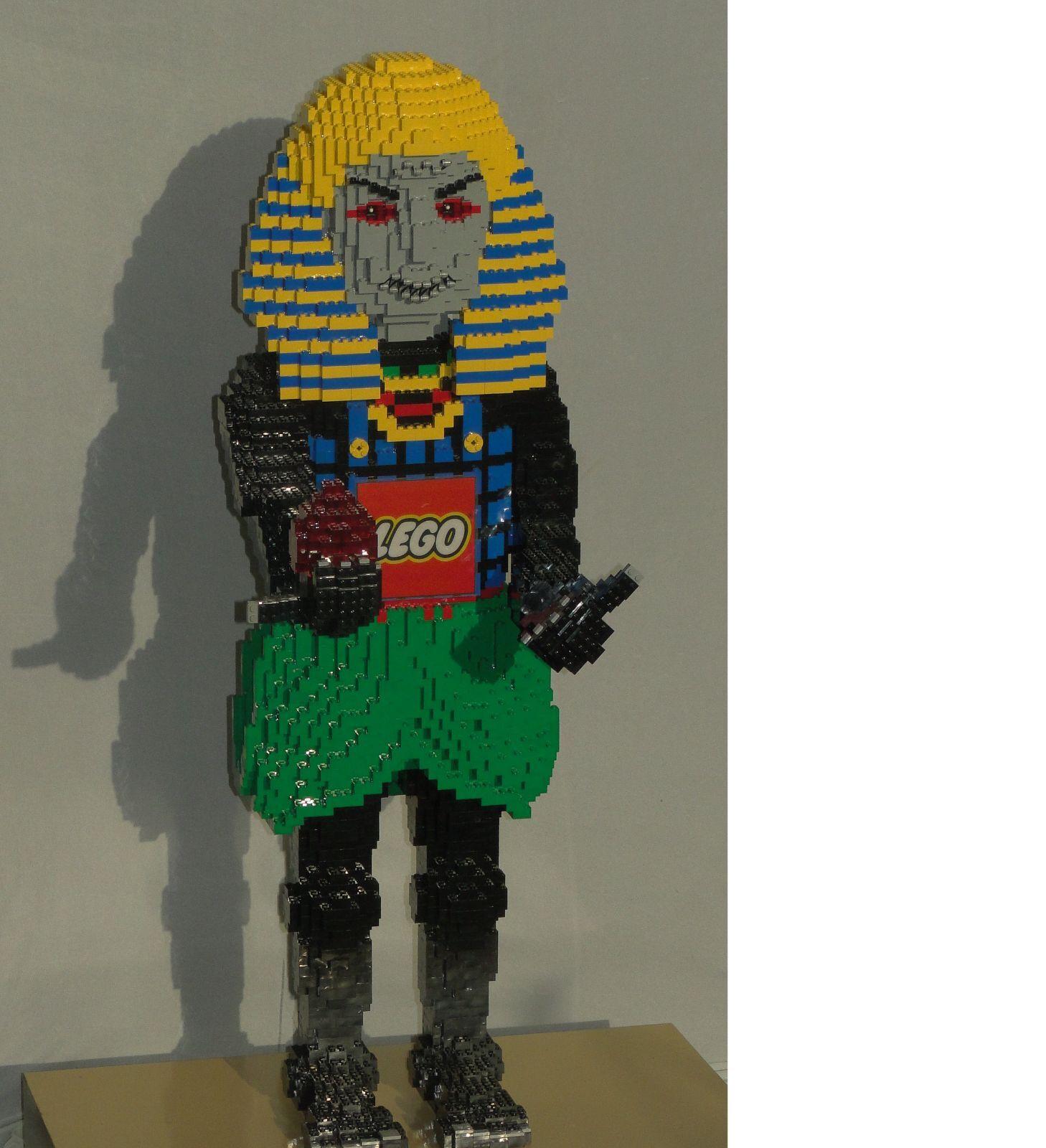 Lego Legoland Grossfigur - Pharao Ägypter mit Sound Sensor 102 cm Figur