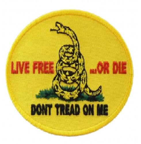 Don/'t Tread on Me Large Back Patch for Patriot Motorcycle Biker Vest Jacket Tea