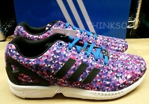 innovative design 015cb c690c Image is loading ADIDAS-ZX-FLUX-SHOE-FLAKE-S82837-SIZE-9-