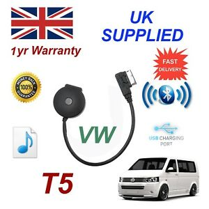 For VW T5 Bluetooth Music Streaming USB Module MP3 iPhone HTC Nokia LG Sony
