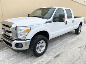 2012 FORD F-250 XLT CREW CAB LONG BOX FX4 4X4 ! GREAT DEAL !