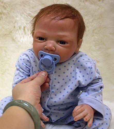 MaiDe Reborn Bambola molle del bambino di simulazione del silicone vinile  W8M