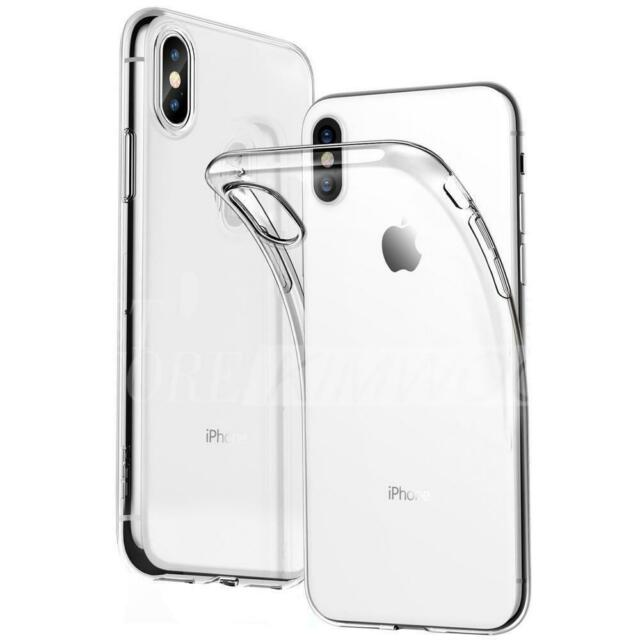 hot sale online 0587f 0554c Case for iPhone XR XS MAX ShockProof Soft Phone Cover TPU Silicone Clear  Bumper