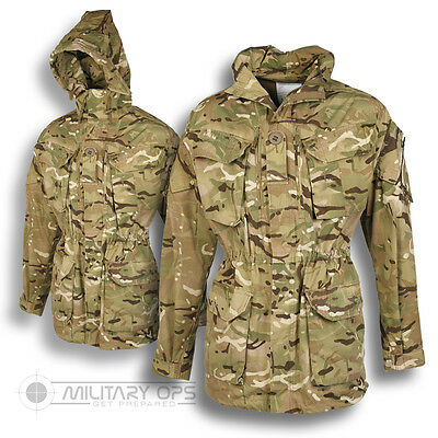 GENUINE BRITISH ARMY ISSUE MTP SMOCK WINDPROOF ARCTIC JACKET COMBAT MULTICAM