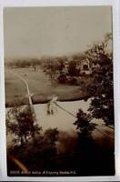 (Gh050-341) Real Photo of BOLTON ABBEY & Step Stones, Skipton c1910 Unused VG-EX