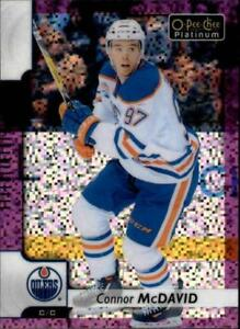 2017-18-O-Pee-Chee-Platinum-Hockey-Violet-Pixel-Singles-Pick-Your-Cards