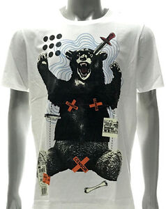 m299-Minute-Mirth-T-shirt-Tattoo-Many-colors-Grizzly-Bear-Hunter-Graffiti-Funny