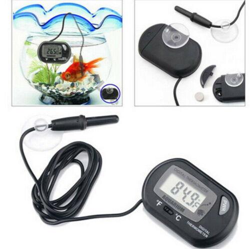 LCD Digital Fish Tank Reptile Aquarium Water Meter Thermometer Temperature Tool