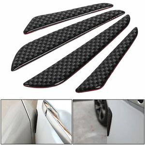 4x-Carbon-Fiber-Car-Door-Edge-Guard-Strip-Scratch-Protector-Anti-collision-Trim