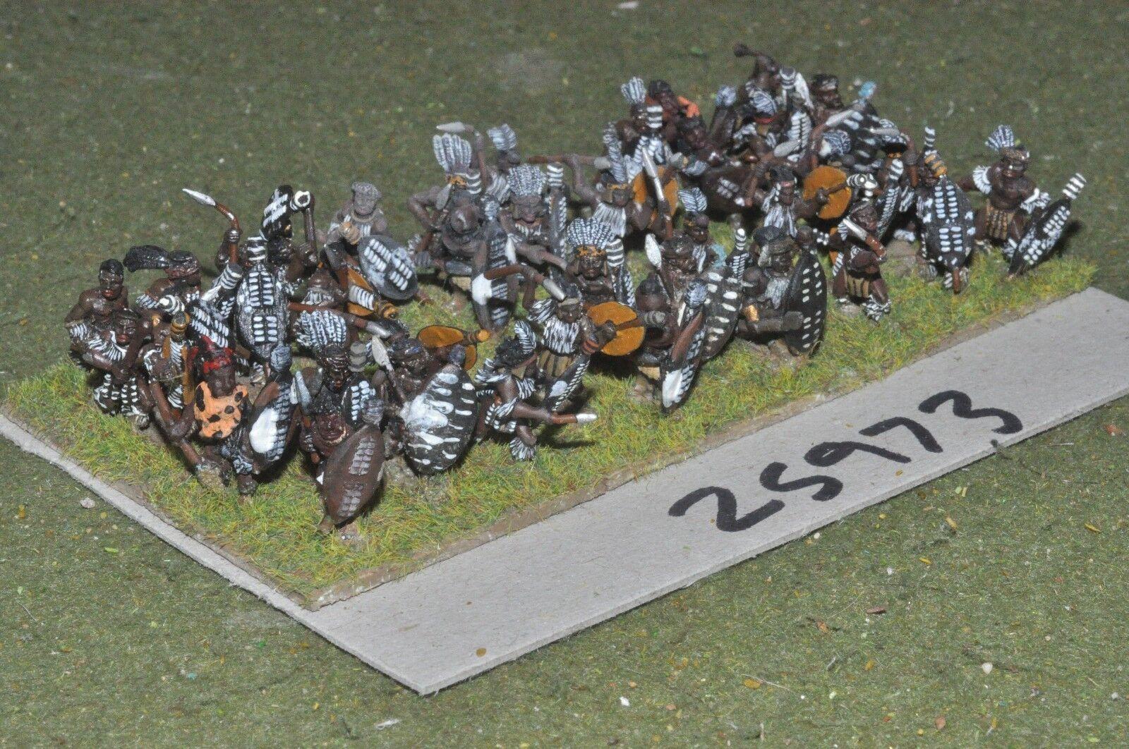 15   zulu - krieger 36 zahlen kolonial - inf (25973)