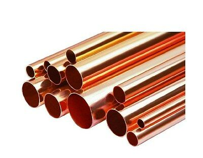 """Any Size Copper Pipe/Tube 1/4""""- 6"""" Inch Diameter x 1' foot Length or More Type L"""