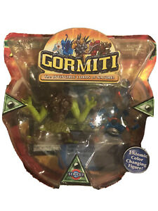 GORMITI Atomic Series 2 NEW 2 Action Figures Lords of Nature Forest & Sea Tribe
