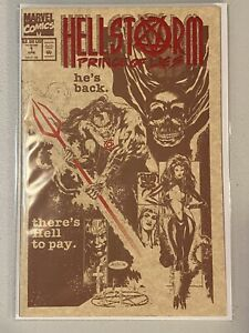 HellStorm-Prince-of-Lies-1-Apr-1993-Marvel-Comics-NM-Or-Better-Hellstrom