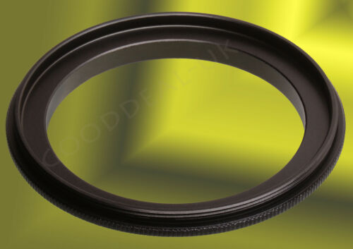Male to Male 52mm-67mm 67-52 Double Lens Coupling Reverse Macro Ring Adapter UK