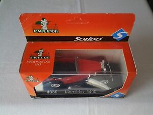 Solido-4086-Mercedes-540K-1-43-Collection-l-039-Age-d-039-Or