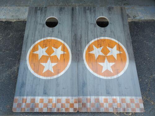 Baltic Birch Cornhole Boards Direct Print Tennessee Tri Star Cornhole Solutions