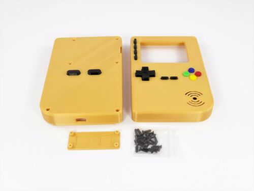 PiGRRL 2 GOLD GameBoy Case with Buttons /& Screws for Raspberry Pi 2//3 Game Boy