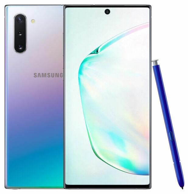 Samsung Galaxy Note10 Sm N970u 256gb Aura Glow Unlocked Single Sim For Sale Online Ebay