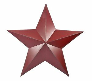 Large Red Barn Star Wall Decor - Amish Barn Star | eBay