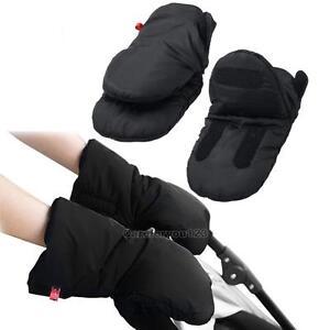 muff handw rmer handmuff kinderwagenhandschuhe schlitten kinderwagen schwarz. Black Bedroom Furniture Sets. Home Design Ideas