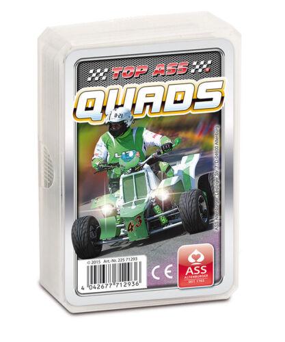 Quartett Spiel von TOP ASS Auto Tuning Quads Motorräder Cabrios NEU