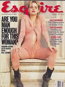 MARCH-1995-ESQUIRE-vintage-magazine-SHARON-STONE