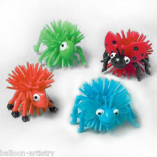 12 Halloween Birthday Woolly Insects Loot Gifts Toys Favours