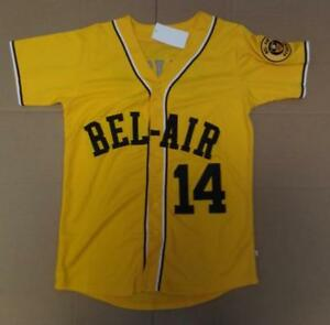 14  Baseball Jersey Bel-Air Academy Will Smith Embroidery Stitched ... 41bd87c49