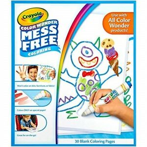 Crayola-Color-Wonder-30-page-Refill-Paper-Page-Multicolour
