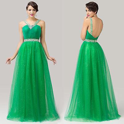 Beaded Halter V Pleat Bridal Bridesmaid Wedding Party Ballgown Full-Length Dress