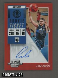 2018-19-Contenders-Optic-Red-Prizm-Rookie-Ticket-Luka-Doncic-RC-AUTO-33-149