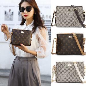 Women Small Chain Shoulder Crossbody Bags PU Messenger Purse Designer Handbags
