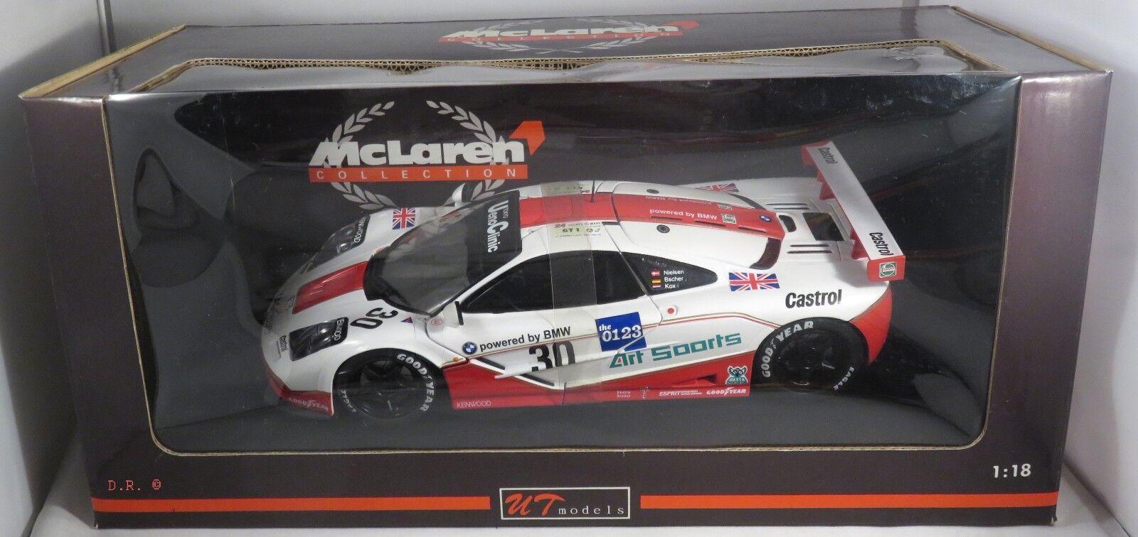 MCLAREN F1 GTR GT1 Bscher Kox Nielsen WEST COMPETITION LE MANS 1996 UT 1 18