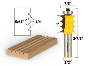 30 Degree 1//2/'/' Shank Dia 3//4/'/' Cutting Length Horse Nose Router Bit