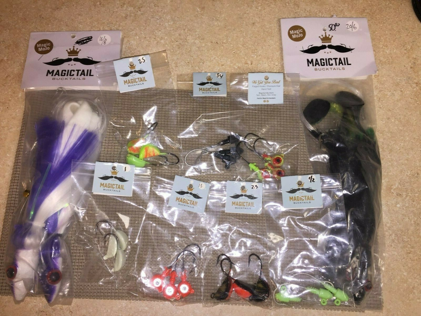 Lot Of 25 Big Game Offshore Salt Water Fishing Lures Hooks New