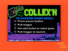 "Exidy Collexn multigame 2x3"" instructional magnet Chiller theme"