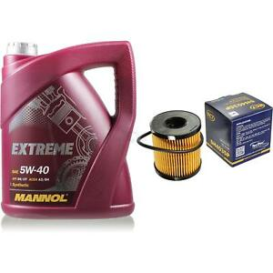 Cambio-de-aceite-set-5l-MANNOL-Extreme-5w-40-sct-filtro-aceite-Service-kit-10164199
