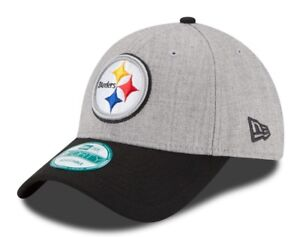 premium selection d37de 85174 Image is loading Pittsburgh-Steelers-New-Era-9Forty-NFL-034-The-